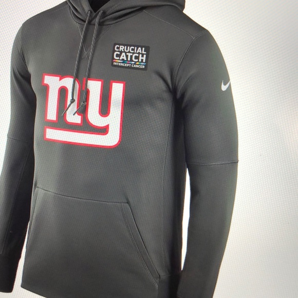 hot sale online d39f1 92fdd NEW NFL Men's New York Giants Nike Hoodie